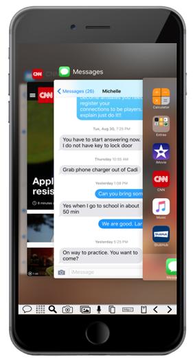 Screenshot Example Close Applications