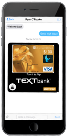 Screenshot Example Prepaid Credit Card